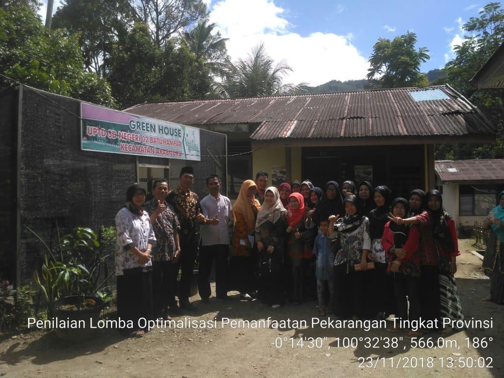 Lomba Optimalisasi Pekarangan Tingkat Provinsi Sumatra Barat